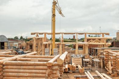 Производство деревянных домов из сибирского кедра и сосны