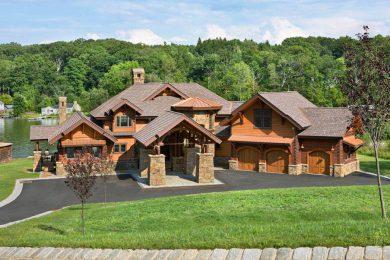 Гибридные деревянные дома ручной рубки