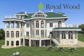 Проект деревянного поместья «Фергус» — 646м²