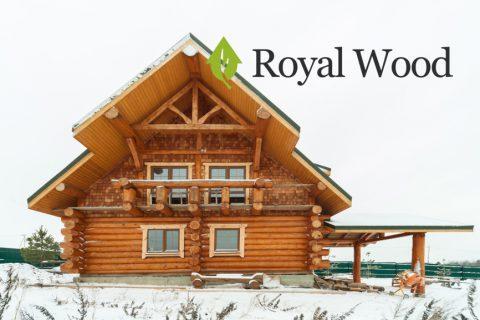 Деревянный дом канадской рубки площадью 160 м²