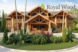 Проект деревянного рубленного дома «Агассис» — 500м²