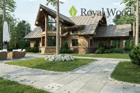 Проект деревянного жилого дома «Орфорд» — 192м²