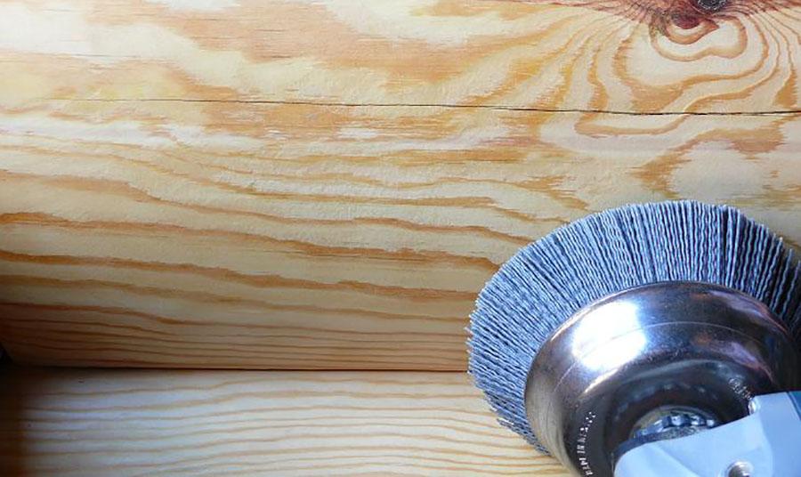Уникальное ценовое предложение на шлифовку и покраску деревянных домов и бань